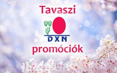 DXN tavaszi promóciók